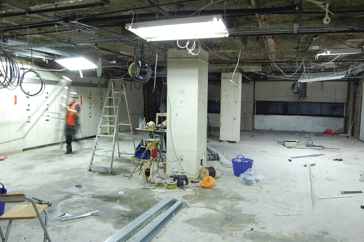 Retail fit out - In Progress